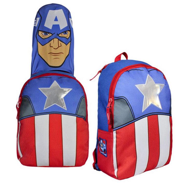 ¡Mochila capitán América con capucha sólo 9,50€! Envío gratis