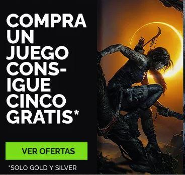 Compra 1 juego y obtienes 5 juegos gratis (Green Man Gaming)