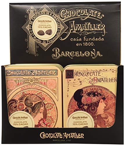 60 unidades de chocolate amatller 70% cacao