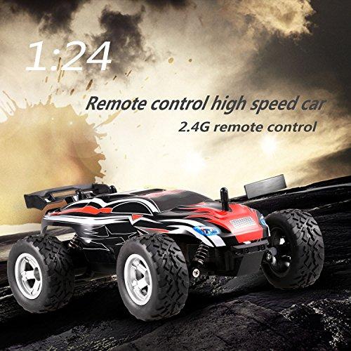 Coche RC 2WD Todoterreno 2.4Ghz 1:24
