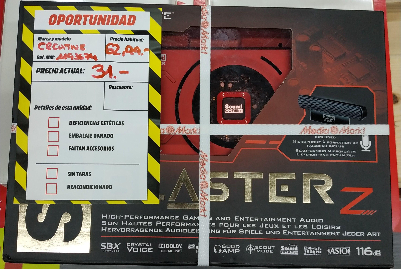 Creative Sound Blaster Z (MediaMarkt Barakaldo)