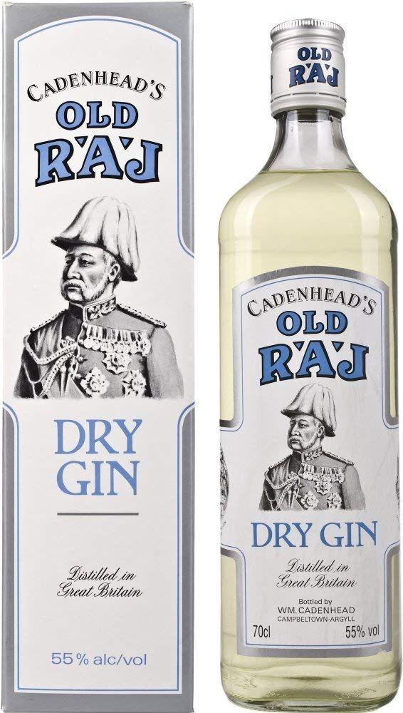 Ginebra Cadenhead's Old Raj Dry 700 ml.