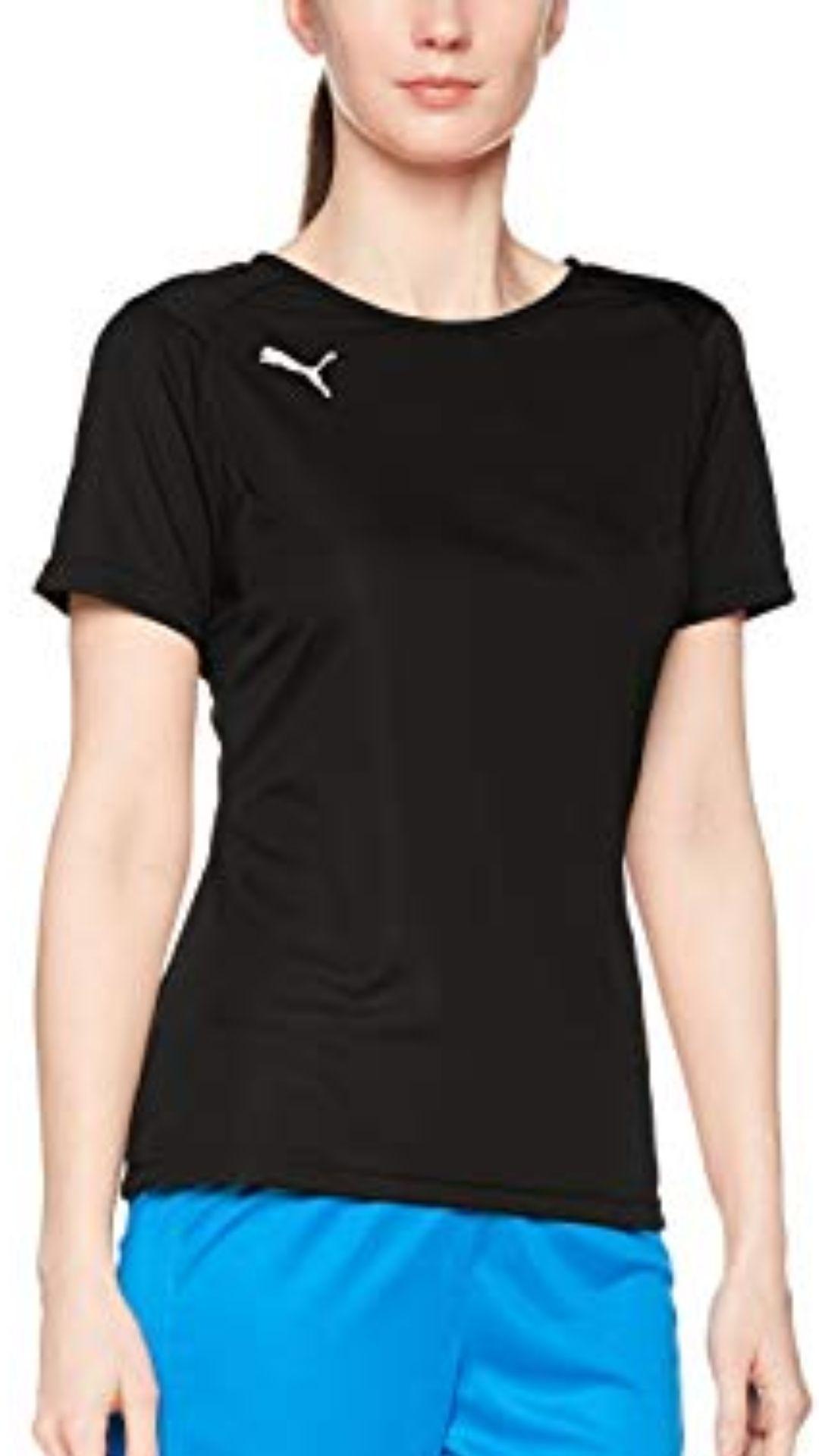 Puma Liga Training Jersey W Camiseta, Mujer, Black/White, M