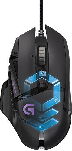 Logitech G502 Proteus Spectrum - Ratón para gaming con RGB ajustable