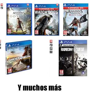 Juegos PS4 y Nintendo Switch a 5€ (AlCampo, Físico, Castellano)