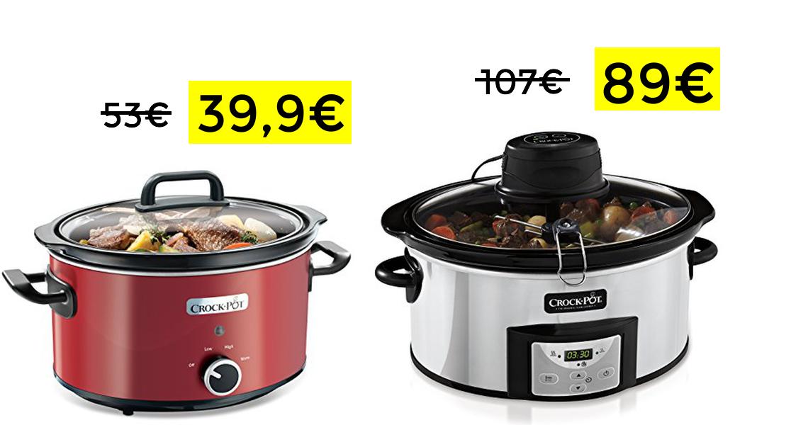 Olla de cocción lenta 3,5L solo 39.9€