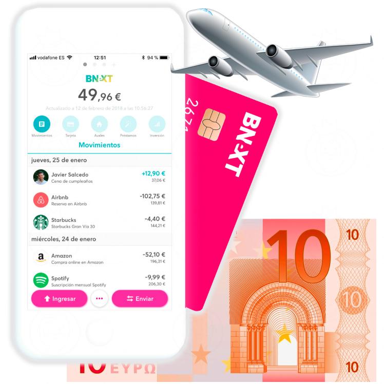 Tarjeta Bnext sin comisiones + 10€ GRATIS [NUEVOS USUARIOS]