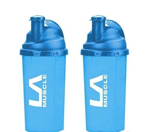 Vaso mezclador - LA Muscle Shaker ( 2 unidades en azul )