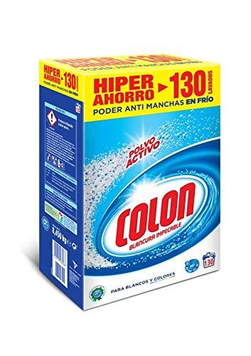 Colon Detergente para Lavadora en Polvo Activo - 130 dosis