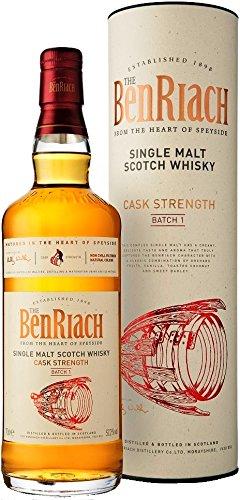 BeNr iach CASK Strength BATCH No. 1 con Regalo Whisky del paquete (1 x 0,7 l)