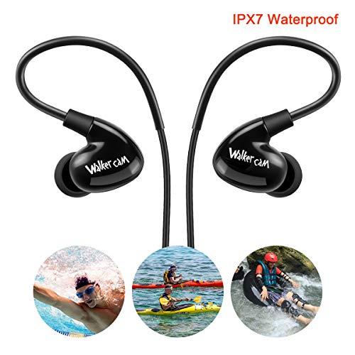 Auriculares natación IPX7 (impermeables)