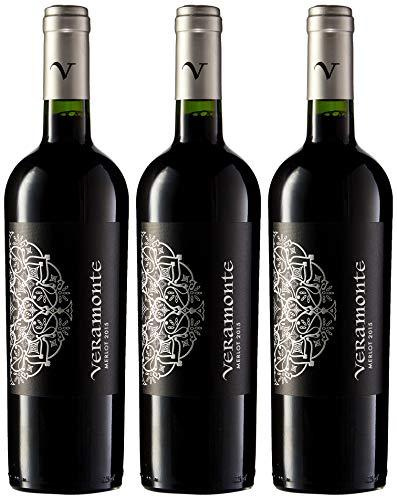 Veramonte Merlot - Vino Chile - 3 Botellas x 750 ml