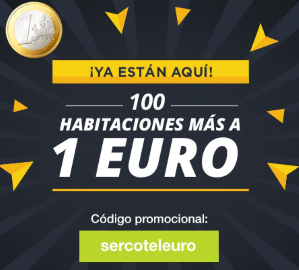 SERCOTEL: 2° OLEADA HABITACIONES A 1 EURO (6 Marzo)