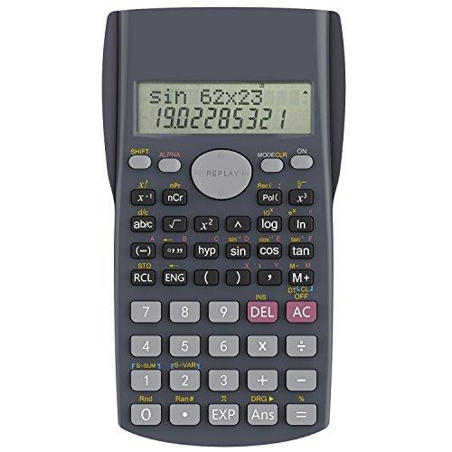 Calculadora científica básica (Incluye envío rápido Prime)