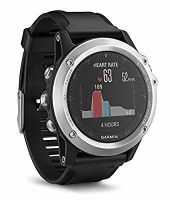 Garmin Fenix 3 HR - Reloj multideporte con GPS y sensores ABC
