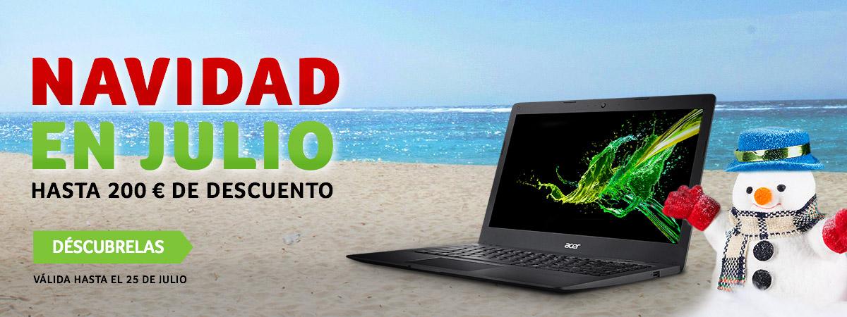 Decuentos de 30€, 50€, 100€ hasta 200€ en tienda Acer