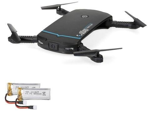 Dron plegable con cámara FPV solo 15.7€