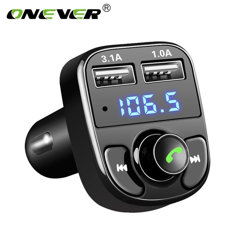 Transmisor FM Bluetooth Manos Libres Para Automóvil