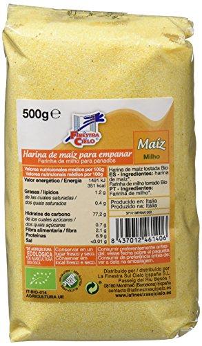 10 unidades de harina de maíz 500gr procedente de agricultura ecológica