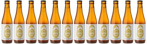12 cervezas barbiere estilo blanca belga de 330ml cada una