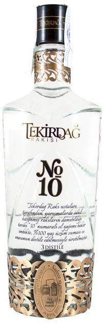 (Raki) Tekirdag No.10 - 700 ml. (licor anisado)