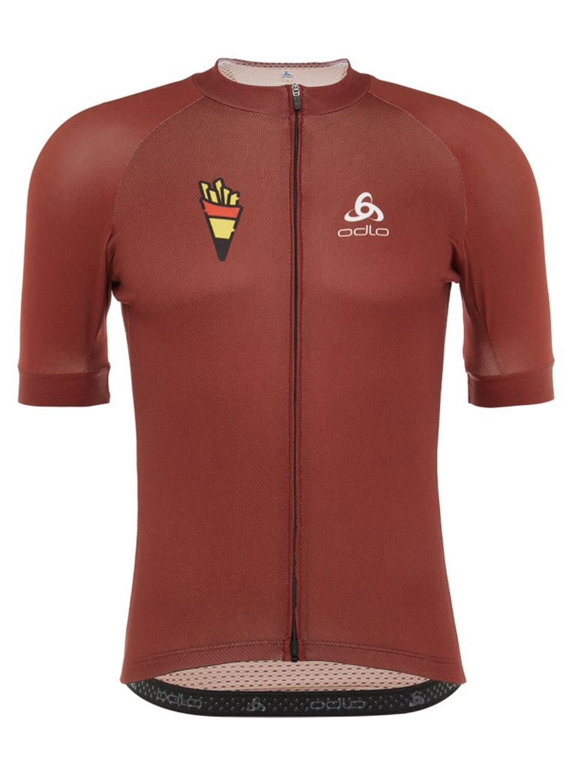 Maillot de ciclismo ODLO Team Belgium