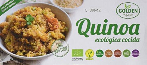 12 unidades de Golden organic quinoa cocida ecológica de 250 gr cada una