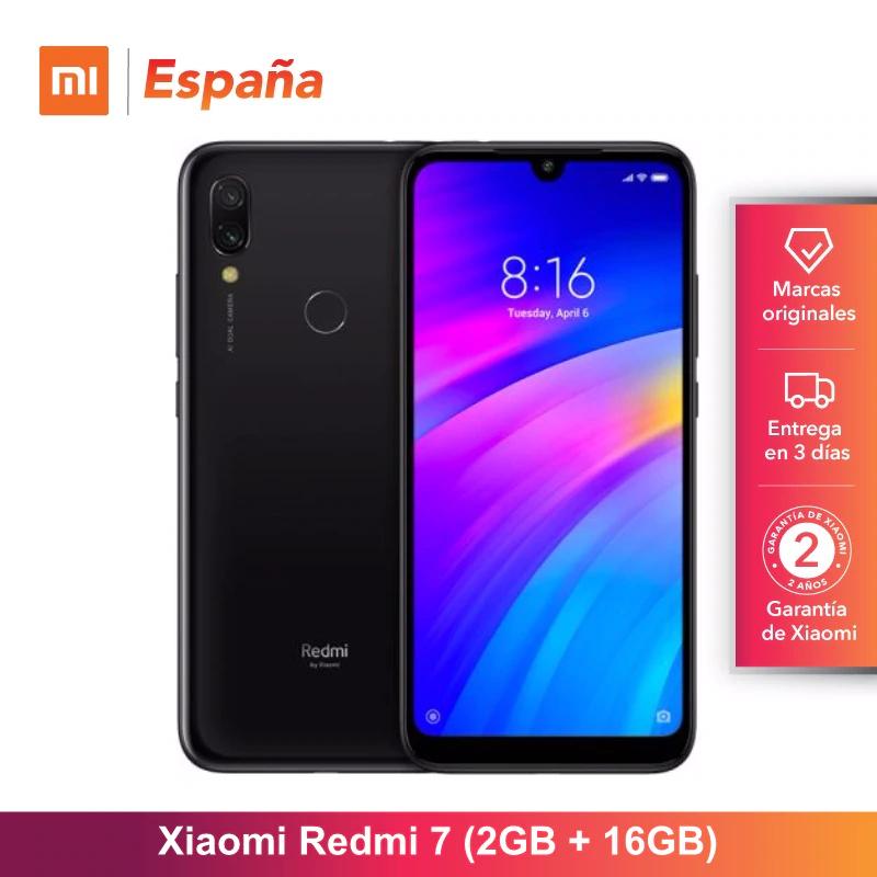 Xiaomi Redmi 7 2/16Gb desde españa tienda AE Palza Xiaomi España