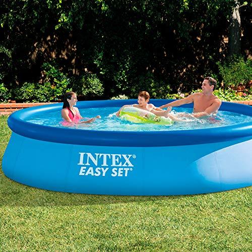 Intex 28143NP - Piscina hinchable Easy Set 396 x 84 cm, 7.290 litros