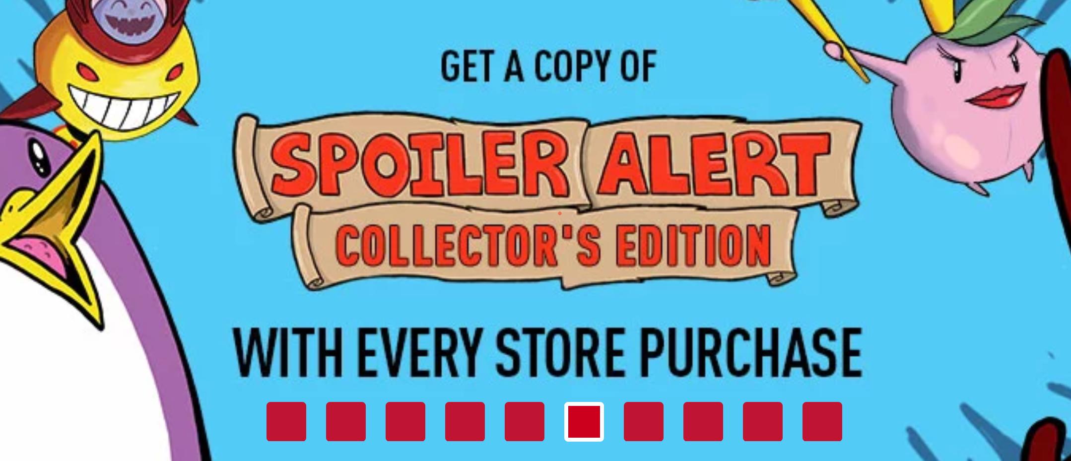 PC: Spoiler Alert Collector´s Edition de regalo por cada compra en Indiegala