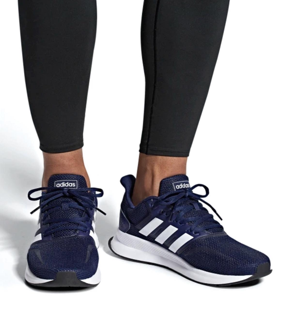 Adidas - Zapatillas Runfalcon. Tienda Española. Negro-Rojo, Azul, Gris