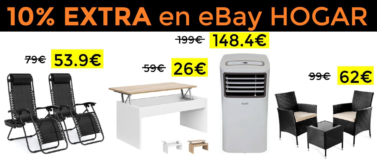 10% EXTRA en Hogar y jardín en eBay