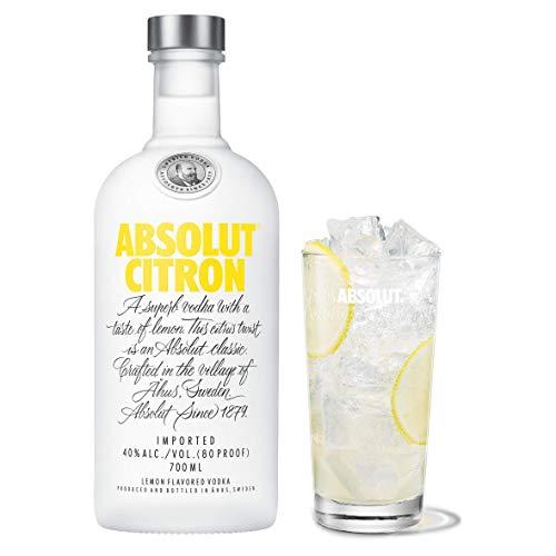 Vodka Absolut Citron, botella 700 ml A SU MÍNIMO