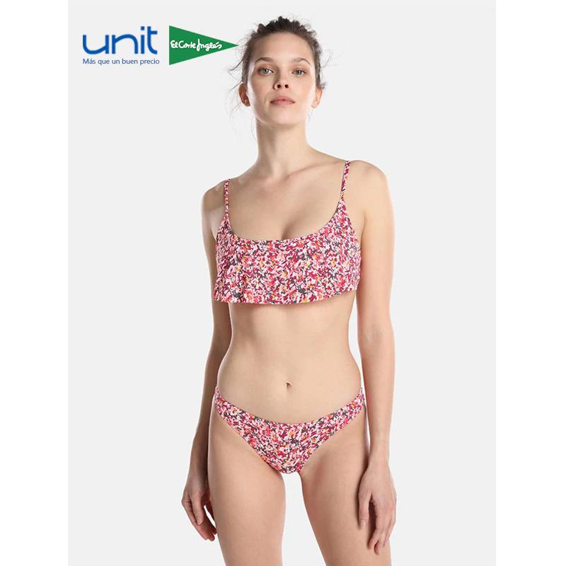 Bikini UNIT, set 2 piezas con estampado de flores