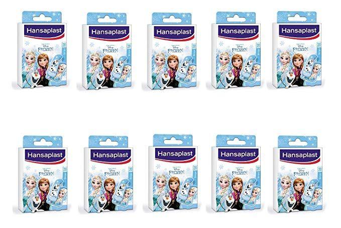 10 paquetes!!! de tiritas Hansaplast infantiles Frozen