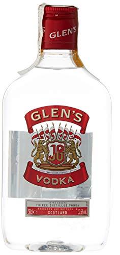 6 botellas Glens pet 37,5 grados de 500ml cada una