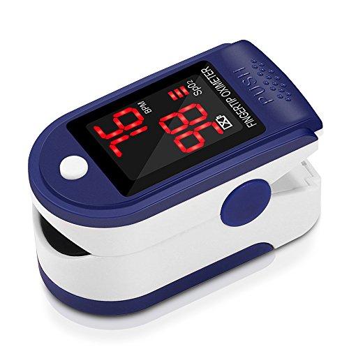 Pulsómetro digital de dedo