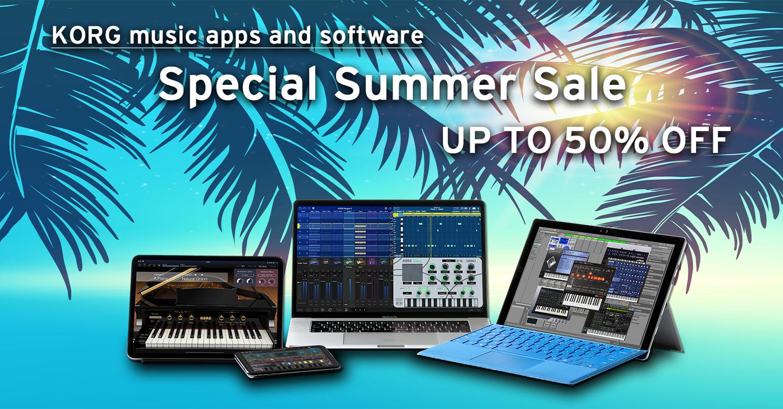 Todo KORG software y apps con 50%