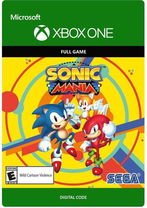 Sonic Mania, juego digital (Xbox One)
