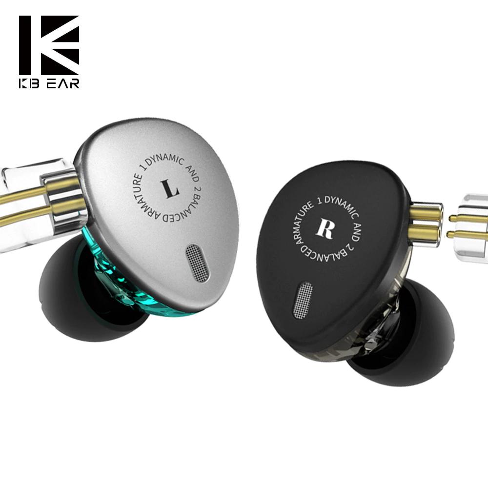 Auriculares Hibridos Kbear KB06 - 1dd+2ba (precio de pre-lanzamiento)