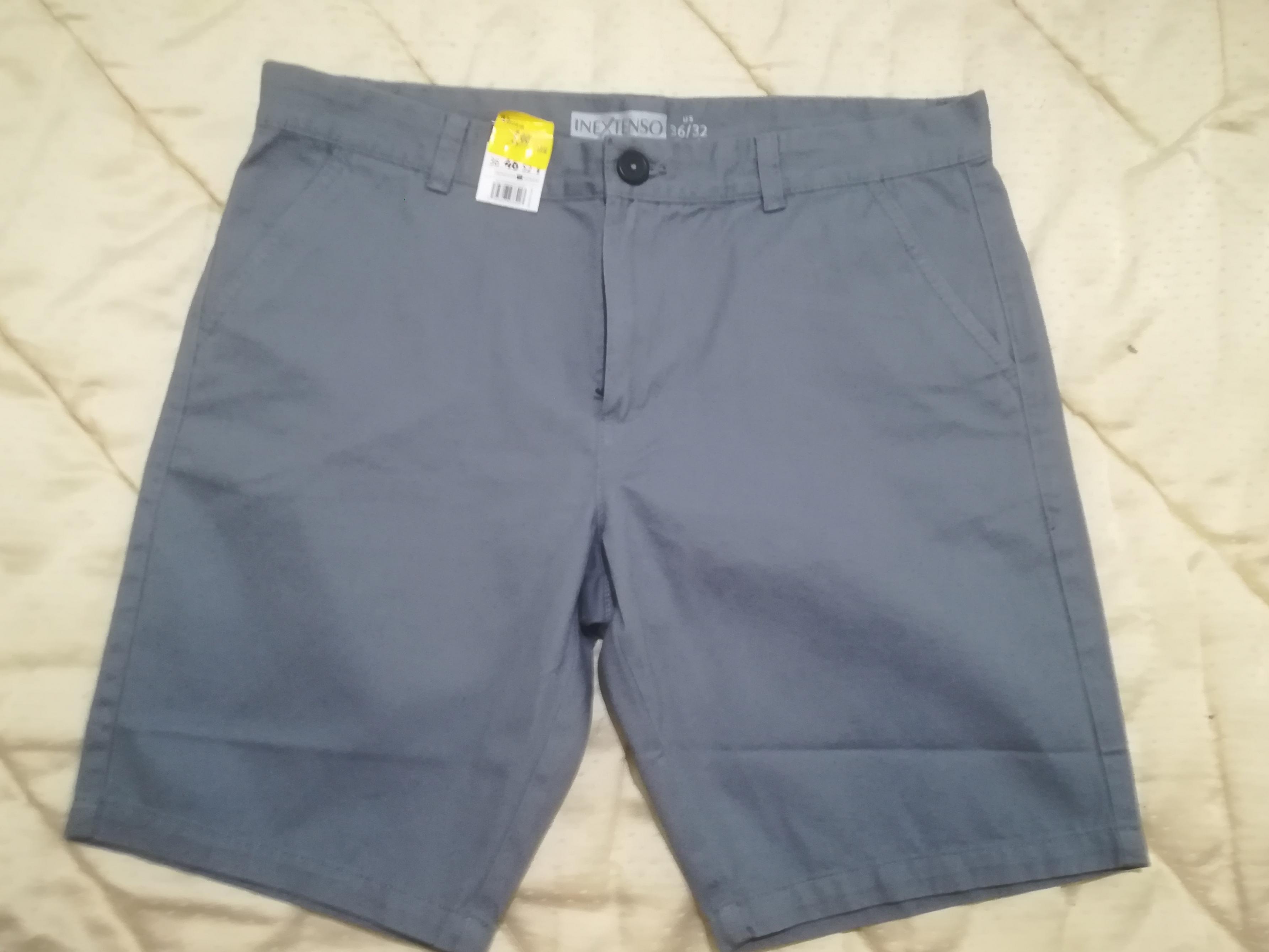 Pantalónes cortos 100% algodón hombre Alcampo