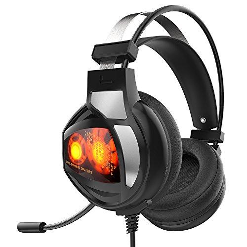 Auriculares Gaming, GAKOV GAV9  con cancelación de ruido