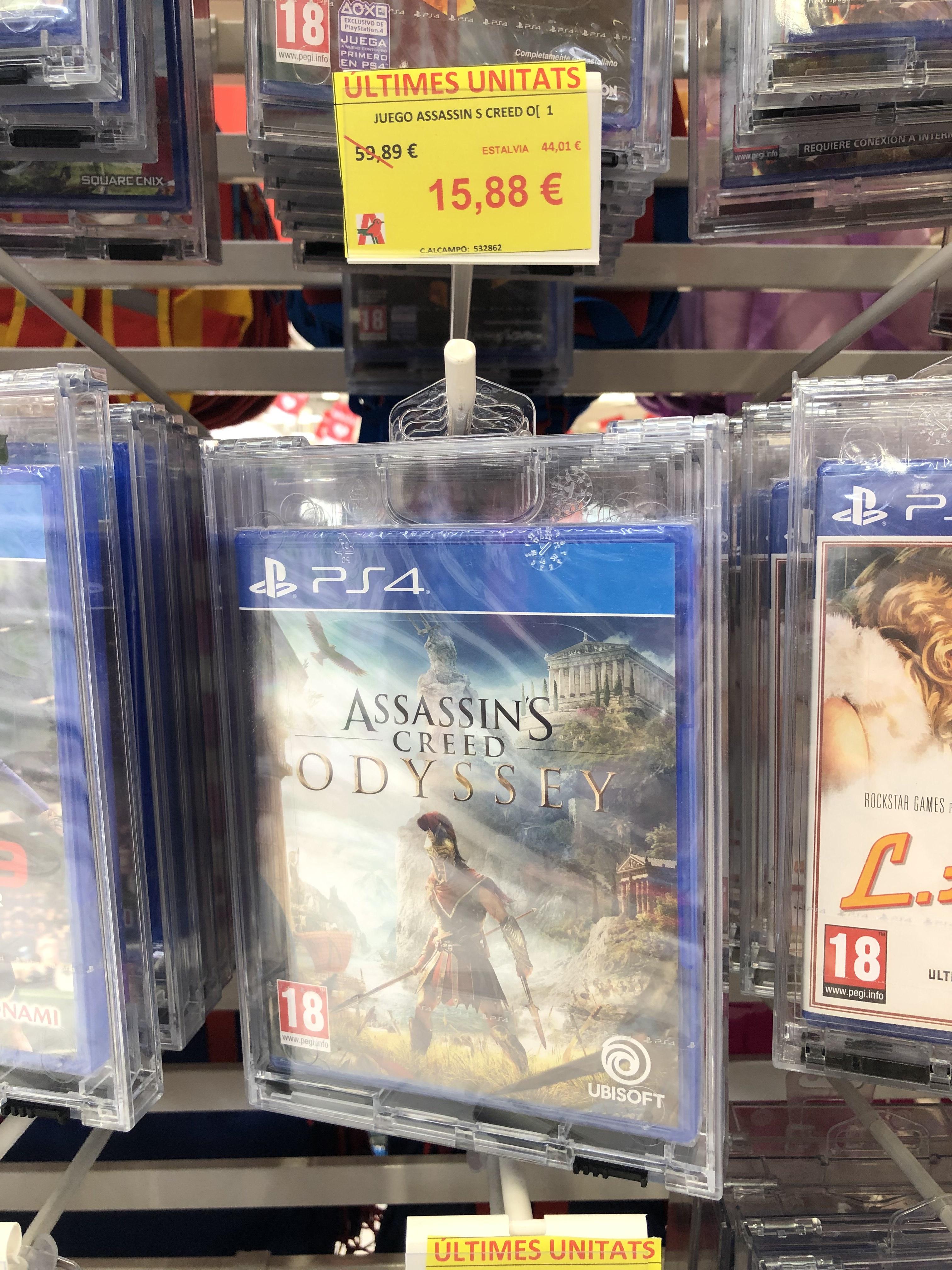 Assassin's Creed Odyssey PS4 - Alcampo Vilanova i la Geltrú
