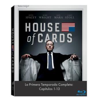 Temporada 1 House of cards bluray