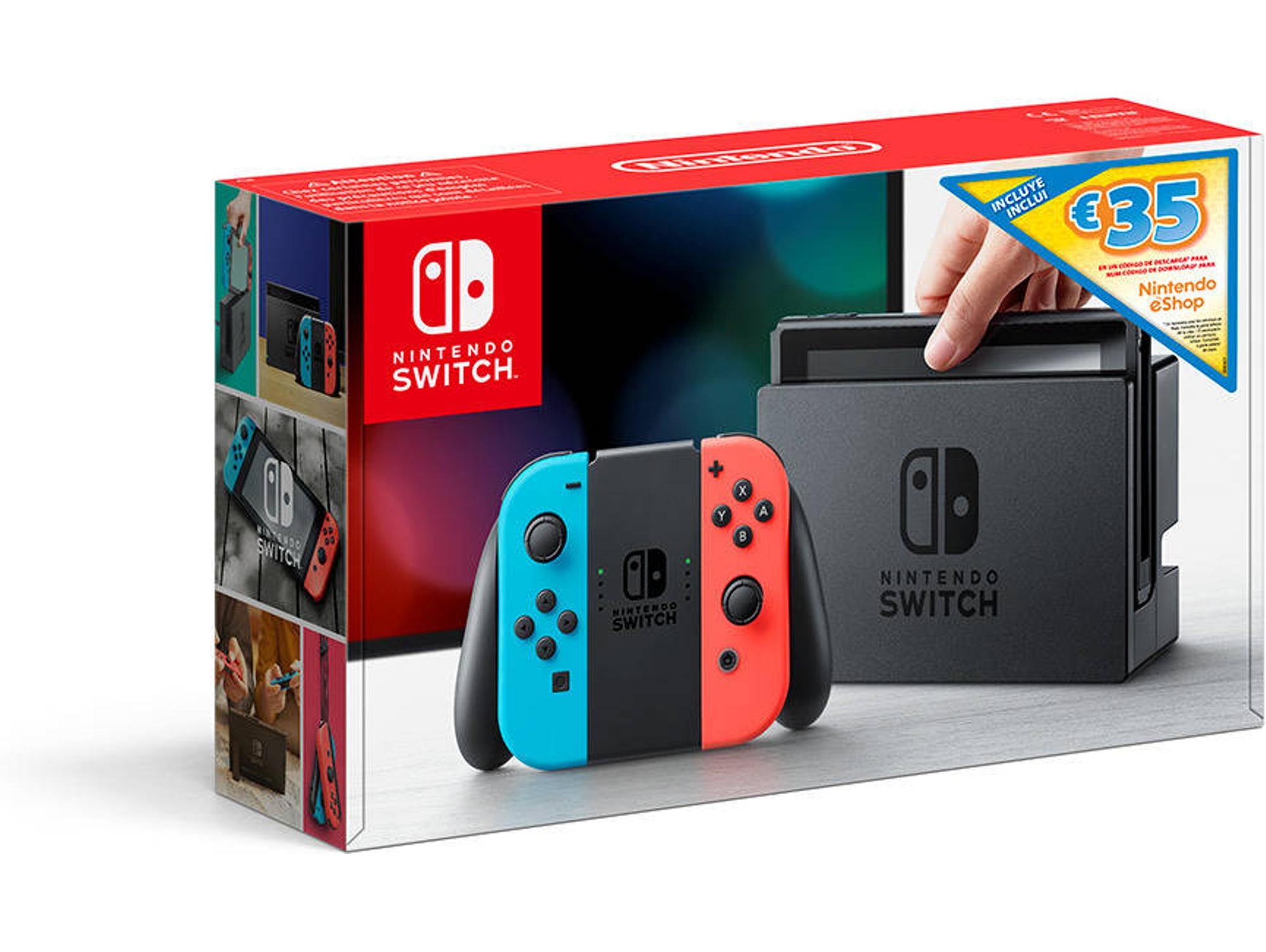 Nintendo Switch + 35€ en eShop