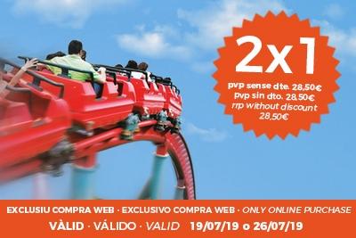 2x1 en Tibidabo (BCN) para el 26/7