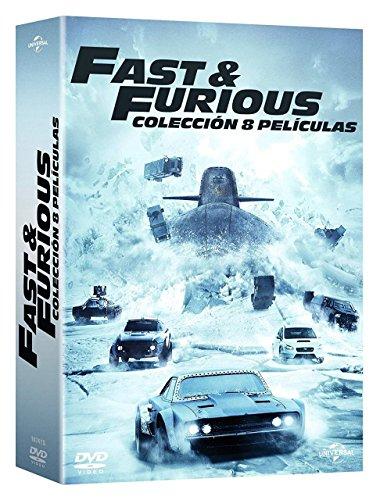 Pack 8 pelis de Fast and Furious en Blu-Ray