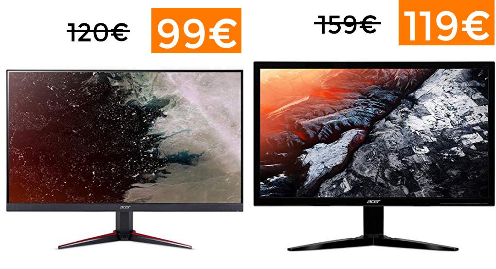 Preciazos en monitores Acer