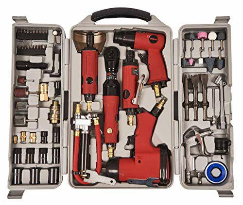 A-Tech 77 piezas juego de herramientas de aire (Reaco Muy bueno)