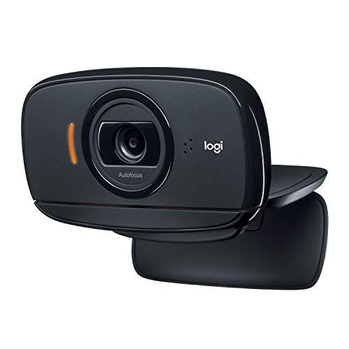 Logitech C525 - Webcam con enfoque automático rápido y diseño 360 grados
